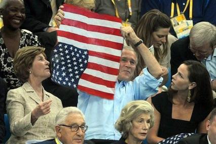 bush-flag