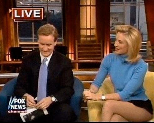 "... FOX BLONDE NEWS' DRESS CODE FOR THE COMING ""NON- NEWS""..NEW"