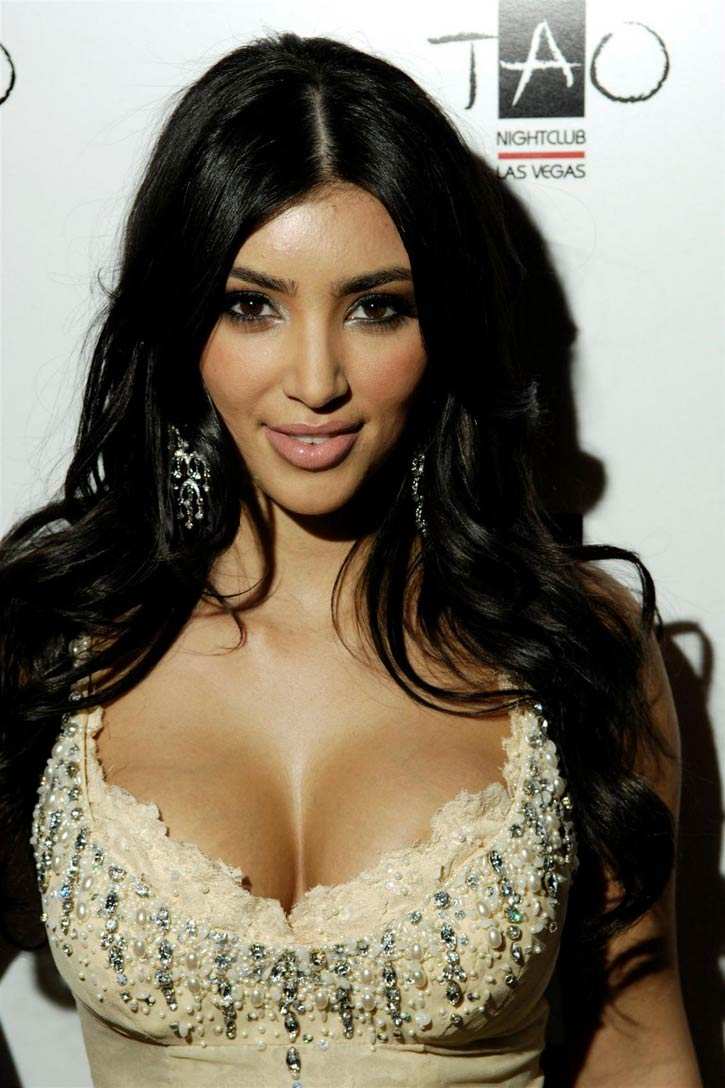 the amazing Kim kardashian bra